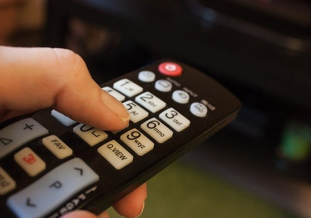 ovladač od televize