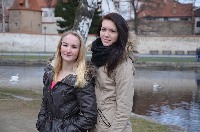 dvě kamarádky